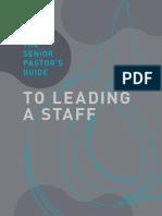 Senior Pastors Guide
