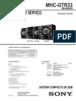 Sony Mhc-gtr33 Ver1.0 Br