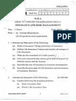 MBAOP-01 Insurance & Risk Management