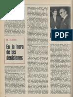 En La Hora de Las Decisiones PDC y P. Nacional.