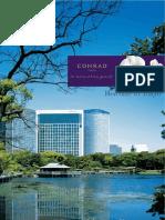 CNRD Tokyo Hotel Brochure2013 E