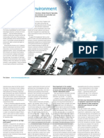 Protecting the Environment Linde HiQ the Column Aug 2010