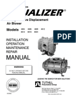 Blower TUTHILL Manual | Belt (Mechanical) | Valve