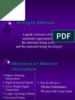 Engine Materials