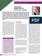 REVISION IAS 19