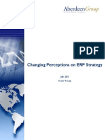 Changing Perceptions on ERP Strategy