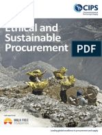 CIPS Ethics and Sustainability Guide