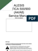 Alesis Matica 500 900 service