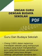 Komitmen Organisasi Dengan Budaya Sekolah