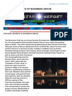 Dark Secrets of Bohemian Grove (a NorthStar Report ~ by NorthStar WebRadio)