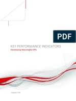 Developing Meaningful Key Performance Indicators V5