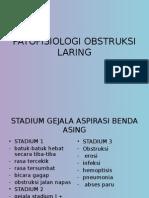 Patofisiologi Obstruksi Laring
