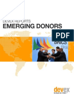 Devex Reports Emerging Donors