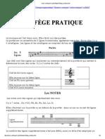 Www.cantiquest.org Solfege Solfege Pratique