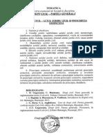 Programa Licenta DREPT 2015