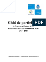 Ghid de Participare Orizont 2020 Manual-RO-H2020-Final