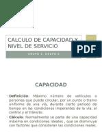 Capacidad y Nivel de Servicio de Carreteras