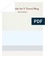 style guide for y travel blog