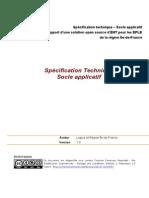CRIF - Spécification Technique - Socle Applicatif