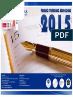 Jadwal Training 2015