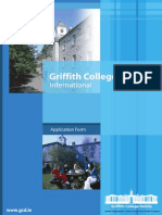 Griffith College Application Form