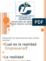 Desarrollo de Aplicaciones Web Cliente Servidor