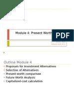 Module 4 Present Worth Analysis