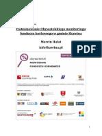 Raport Monitoring Korkowy 2012 Gmina Skawina 10.06.2015