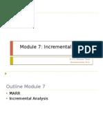 Module 7 Incremental Method