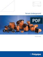 Terrain Below Ground Drainage Dimensional Data
