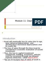 Module 11 Depreciation