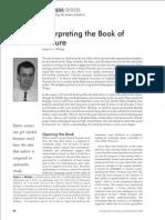 Angus Menuge - Interpreting the Book of Nature [a]