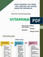 Bromatologia Vitaminas