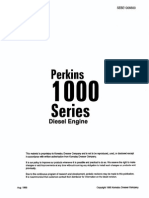 Motor Perkins 1000 Series SEBD1006600