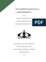 Makalah Afr Macam2 Reservoir Minyak Dan Karakteristiknya