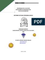 Sindrome Diarreico Infantil por rotavirus en El Salvador