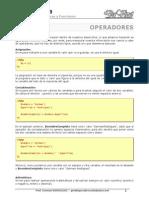 Dw03 Ctes Web - 02 - Operadores Estructuras y Funciones