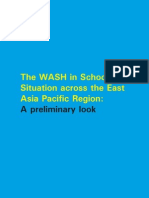 The WASH in Schools Situation Across the EAP Region a Preliminary Look