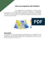 Exposiciones Sobre Los Programas Del Geodesic Tool Kit
