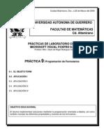 Práctica No.9 Form