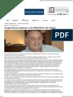 Argentina y la rebelion de Atlas