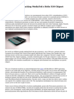 Sim Smartphone Packing MediaTek's Helio X10 Chipset