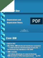 1 Organizations and Organization Theory