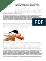 Trattamenti Cavitazione Medicale Lecco Centro Medico Arcobaleno Per Trattamenti Cavitazione Medicale Lecco