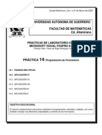 Práctica No.14 Form