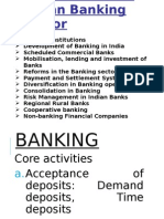 Consolidation in Banking Sector