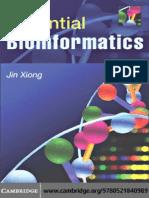 Xiong - Essential Bioinformatics