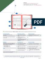 Especificaciones de Formato