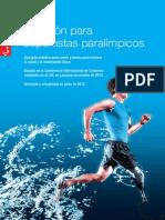 Nutrición Paralímpicos