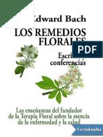 Los Remedios Florales - Edward Bach -w Lectulandia Com